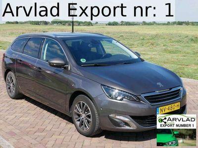 tweedehands Peugeot 308 NETTO 7499 **PANO**LED**2017 SW Premium 1.2 PureTe