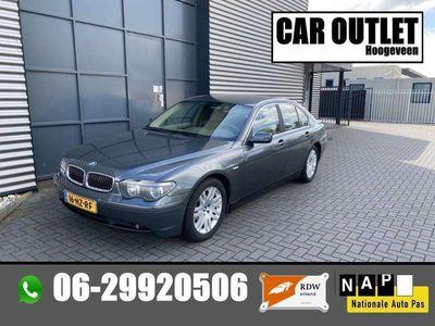 tweedehands BMW 745L 745 i Executive Xenon Leer Aut. --Inrui Mogelijk--