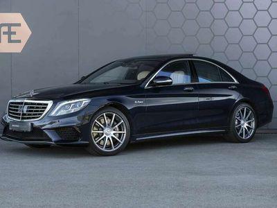 tweedehands Mercedes S63 AMG S 63 AMGAMG Burmester + Massage + Suede Zwarte hemel +