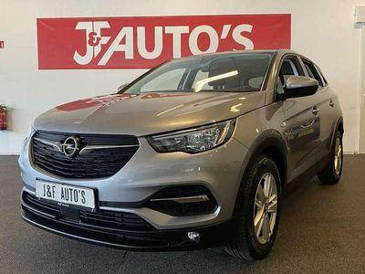 tweedehands Opel Grandland X 1.2 Turbo Edition NAVIGATIE, CRUISE, ECC AIRCO, EL