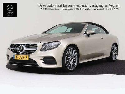 tweedehands Mercedes E300 Cabriolet AMG-Line automaat Premium Plus Zeer comp