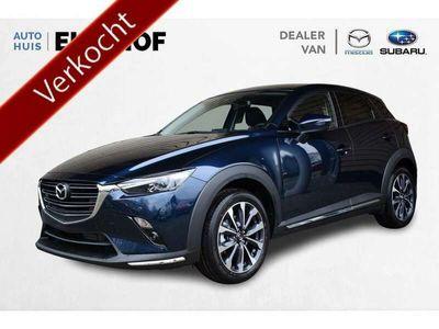 tweedehands Mazda CX-3 2.0 SkyActiv-G 121 Luxury AUTOMAAT € 2.435,- voorr