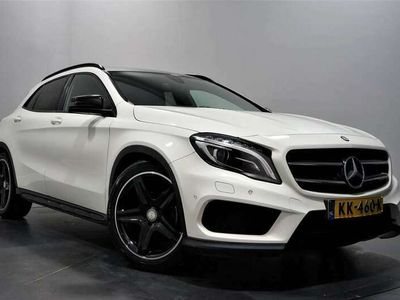 tweedehands Mercedes GLA180 AMG Night Edition Plus Aut. | Leder | Navi | Xenon