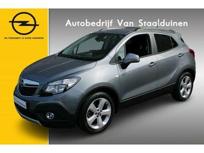 tweedehands Opel Mokka 1.4T 140pk Edition Navigatie| Telefoon voorbereiding| Climate Control| Parkeersensoren V+A| Trekhaak