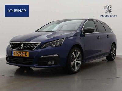 tweedehands Peugeot 308 1.5 BlueHDi 130pk AUTOMAAT GT-Line | Keyless | Navigatie | Keyless | Parkeercamera |