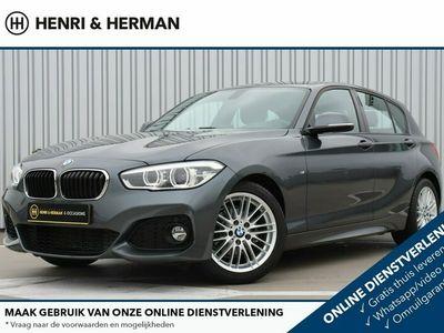 "tweedehands BMW 118 1 Serie i M Sport High Executive (LEER/1ste eig./LED/Sportstoelen/17""LMV/M-Pakket)"