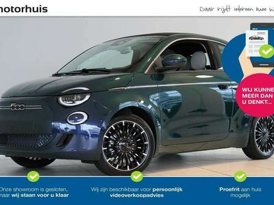 tweedehands Fiat 500e La Prima Cabrio 42kWh, 118PK, Navigatie, Climate Control / 8% bijtelling!