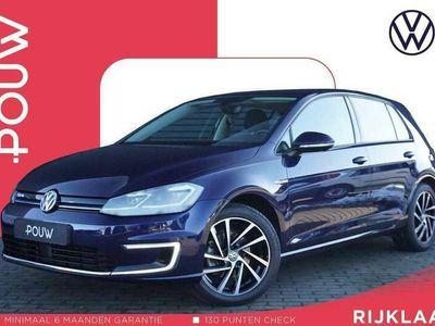tweedehands VW Golf e-Golf 136pk AUT + € 25.290,- INCL. BTW + LED Kopl