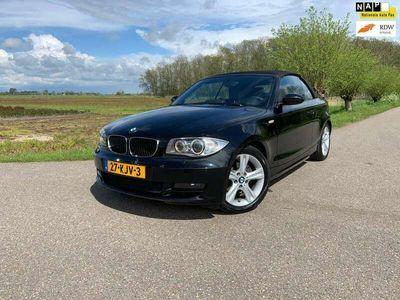 tweedehands BMW 118 Cabriolet 118i AUTOMAAT / AIRCO / NAVIGATIE / COGNAC