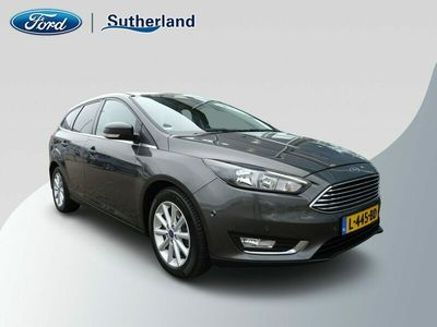 tweedehands Ford Focus Wagon 1.5 150PK Titanium / Winter Line / Privacy Glass.