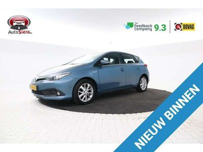 tweedehands Toyota Auris 1.8 Hybrid Dynamic Bomvol, Rijlaanbewaking, Climat
