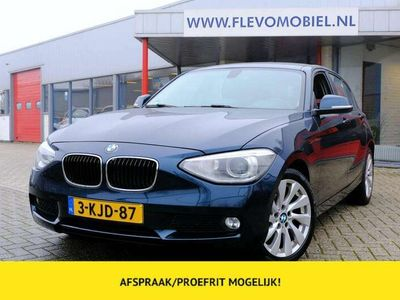 tweedehands BMW 118 118 d 143pk Executive 5-Deurs Xenon Sportstoel Navi