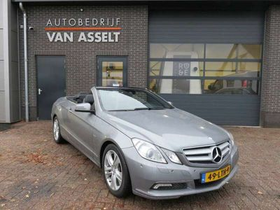 tweedehands Mercedes E250 Cabriolet CGI Avantgarde Aut. Leer Navi