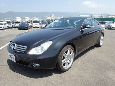 tweedehands Mercedes CLS500 auction report avaliable on it's way to Holland