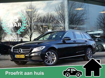 tweedehands Mercedes C350 Estate e Lease Edition / Burmester Audio / 21.115,