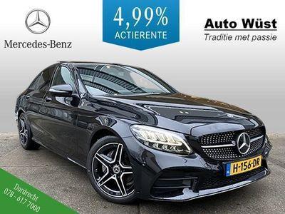 tweedehands Mercedes C180 Business Solution AMG Night | April beschikbaar
