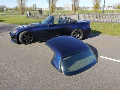 tweedehands Honda S 2000 2.0i Royal Navy Blue + Hardtop