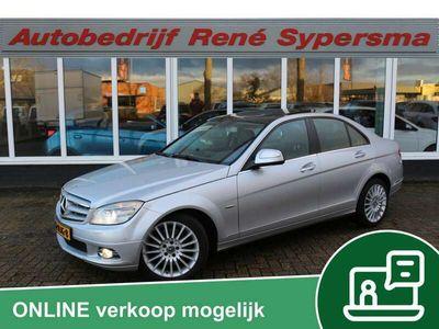 tweedehands Mercedes C350 Avantgarde Pano/Keyless/Leder/Memory/Gordijn/Full options!