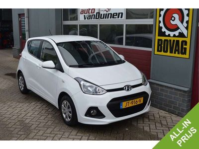 tweedehands Hyundai i10 1.0i i-Motion Comfort O.a: Clima, Cruise contr., Start-stop, Centr-lock, ect, All-In prijs !!