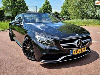 tweedehands Mercedes S63 AMG AMG Cabriolet 4Matic | Vossen wielen | Akrapovic
