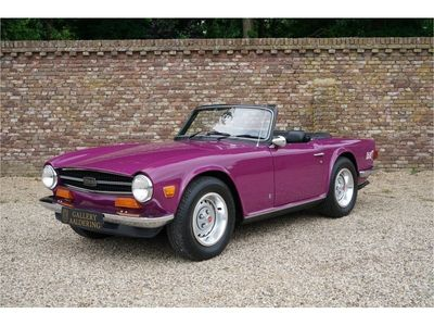 tweedehands Triumph TR6 Rare colour low miles