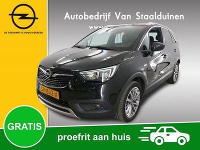 tweedehands Opel Crossland X 1.2 Turbo Innovation Navigatie, 17 inch velgen, Winter Pakket, Camera, AGR Stoelen
