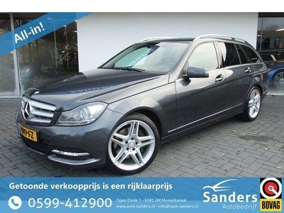 tweedehands Mercedes 350 C-KLASSE EstateCDI Prestige Avantgarde / Facelift/ 18 inch/ Stoelverwarming&koeling/ trekhaak afneembaar