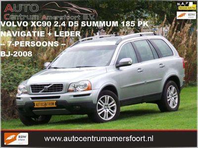 tweedehands Volvo XC90 2.4 D5 Summum ( 7-PERSOONS + INRUIL MOGELIJK )