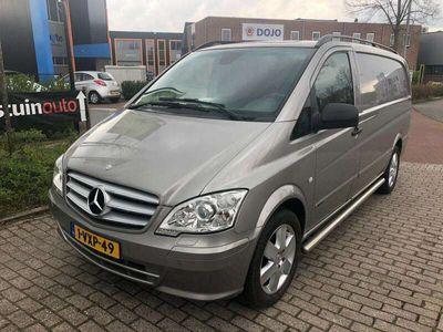 tweedehands Mercedes Vito 122 CDI V6 LANG ENKELE CABINE AUT