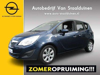 tweedehands Opel Meriva 1.4 Turbo Cosmo Climate Control, Lichtmetalen velgen, Trekhaak, 140pk!