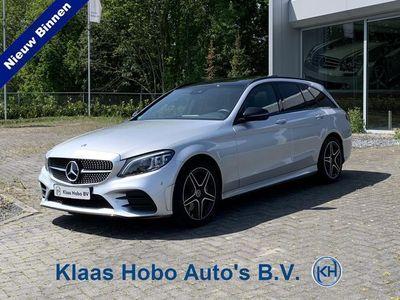 tweedehands Mercedes 300 C-KLASSE EstateAMG Premium Plus Pack Nightpakket, 9G-TRONIC, Luchtvering, Parkeerpakket