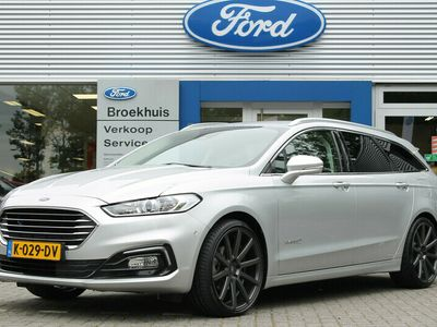 tweedehands Ford Mondeo 2.0HEV 187PK AUTOMAAT TITANIUM WAGON   CONNECTIVITY PACK   18'' LMV   WINTER PACK   CAMERA   PRIVACY GLASS   SONY   NAVI SYNC 3