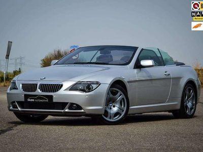 tweedehands BMW 645 Cabriolet 645Ci Clima, Cruise, Navi, Leder, Xenon, Wi