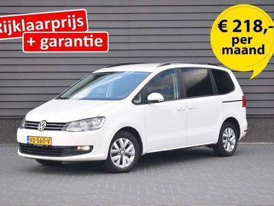 tweedehands VW Sharan 2.0 TDI 140pk H6 Comfortline BlueMotion Ex Btw ! GRIJS KENTEKEN Airco Trekhaak