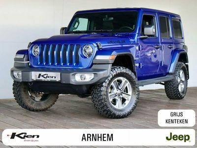 """tweedehands Jeep Wrangler 2.0T Sahara   8,4"""" Navigatie   33"""" Cooper banden"""