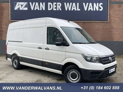 tweedehands VW Crafter 35 2.0TDI 140PK L3H3 (L2H2) Euro6 Airco, parkeerse