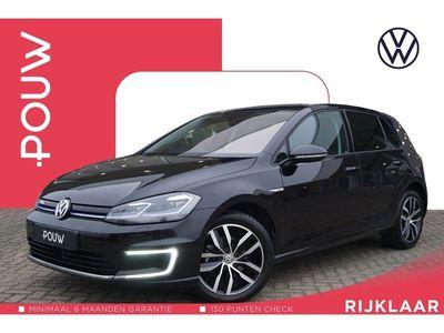 tweedehands VW e-Golf 136pk AUT € 24.950,- Incl. BTW