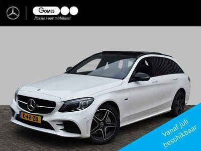 tweedehands Mercedes E300 C-Klasse EstatePLUGIN Business Solution AMG Limited   Nightpakket   Panoramadak   360° Camera   Stoelverwarming