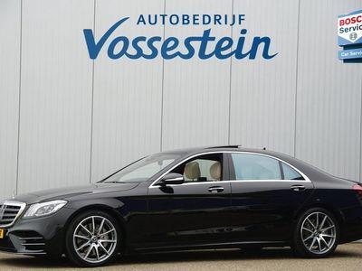 tweedehands Mercedes S560 4Matic Lang Premium Plus 470pk / AMG / Nwpr: E186.000,- / Full Options!