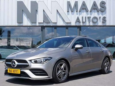 tweedehands Mercedes CLA200 AUT7 AMG PANORAMADAK WIDESCREEN