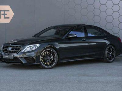 tweedehands Mercedes S63 AMG AMG Lang 4-Matic BTW + Magnetite Black + Panoramadak S