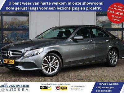 tweedehands Mercedes C350e | Excl BTW | Camera | Lederen sportstoelen | Nav