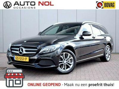 tweedehands Mercedes E350 C-Klasse EstateExcl. BTW Burmester Volleder Έlectric.klep Έlectric.Stoelen Stoelverw.