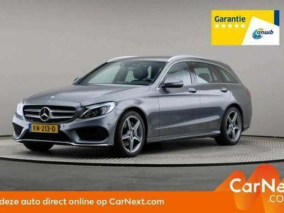 tweedehands Mercedes C180 Estate C 7G AMG Sport Edition, Automaat, LED, Lede