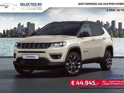 tweedehands Jeep Compass 4xe 240 PHEV Hybrid S | 3-fase | Bi-Tone
