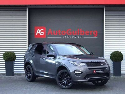 tweedehands Land Rover Discovery Sport 2.0 Si4 4WD 241PK HSE Luxury Dynamic Pano Black Pa
