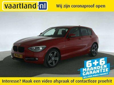 tweedehands BMW 120 120 D 190pk Sport Business+ [ FM Navi LMV Cruise Cl