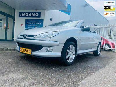tweedehands Peugeot 206 CC 1.6-16V BJ 2005 KM 171500 Nieuw APK