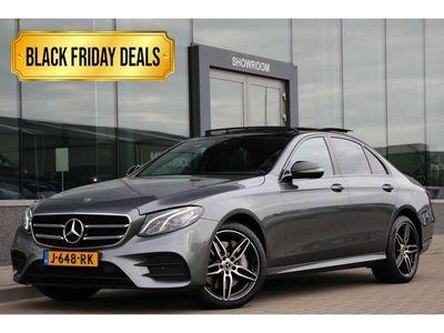 tweedehands Mercedes E350 e premium plus| amg | pano.