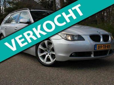 tweedehands BMW 525 525 Touring i Executive Leder Panoramadak NAP